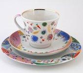 Набор чайный ИФЗ Банкетная, Конфетти, 3 предмета 81.20809.00.1