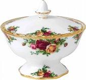Вазочка с крышкой Розы Старой Англии, 12 см Royal Albert 40001852