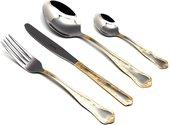 Набор столовых приборов Herdmar Samba, 24 предмета, зеркальная полировка, с декором 020302400210100019