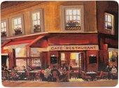 Подставки на пробке Вечернее кафе 40х29 см, 2шт. Creative Tops Everyday Home 5176749