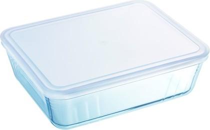 Форма для запекания Pyrex Cook & Freeze прямоугольная с крышкой 2.6л 243P000