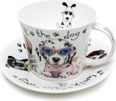 Чайная пара Собаки модники 500мл Roy Kirkham XANIDOG1110