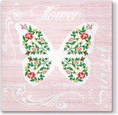 Салфетки для декупажа Paw Сладкая бабочка, 33x33см, 20шт TL697000