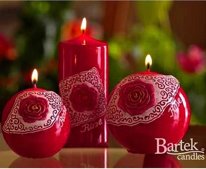 "Bartek Candles DOLCE VITA Свеча ""Дольче вита"" - образ коллекции A, колонна 70х150мм, артикул 5907602660494"