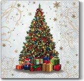 Салфетки Подарки для Вас 33x33, 3-сл, 20шт Paw SDL057200