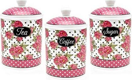 Ёмкость Lesser & Pavey Джесси Стил для чая, кофе, сахара 18см LP91421