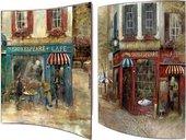 Модульная картина Top Art Studio Старый Лондон 41x51см, пара, дерево, лак WDP1750-TA