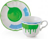 Сервиз чайный Fade Servizio Giotto, чашки с блюдцами, 400мл, 6 персон 51118