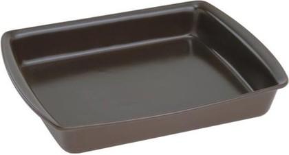 Форма для запекания керамическая прямоугольная большая 34x26см, шоколад Ceraflame A4365