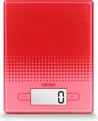 Весы кухонные электронные красные 5кг/1гр Soehnle City Red 66207