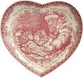 Блюдо сервировочное Johnson Brothers Рождественский Ангел, 23см A4256407441