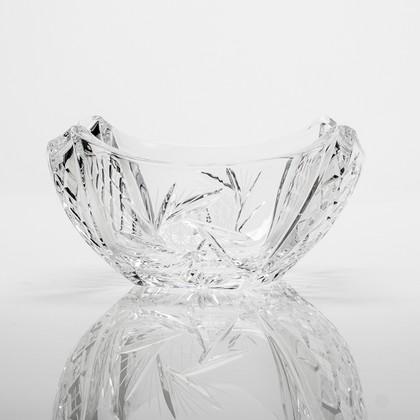 Ваза для фруктов Колосеум, ветренник 25.5см Crystalite Bohemia 6KD21/0/26008/255
