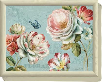 Поднос с подушкой Романтичный сад Creative Tops LT3017