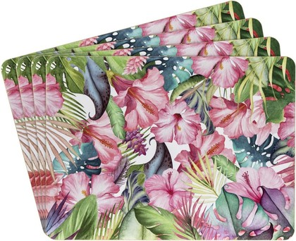 Подставки под тарелки на стол Lesser & Pavey Тропический рай, 4шт, 29x22см LP93424
