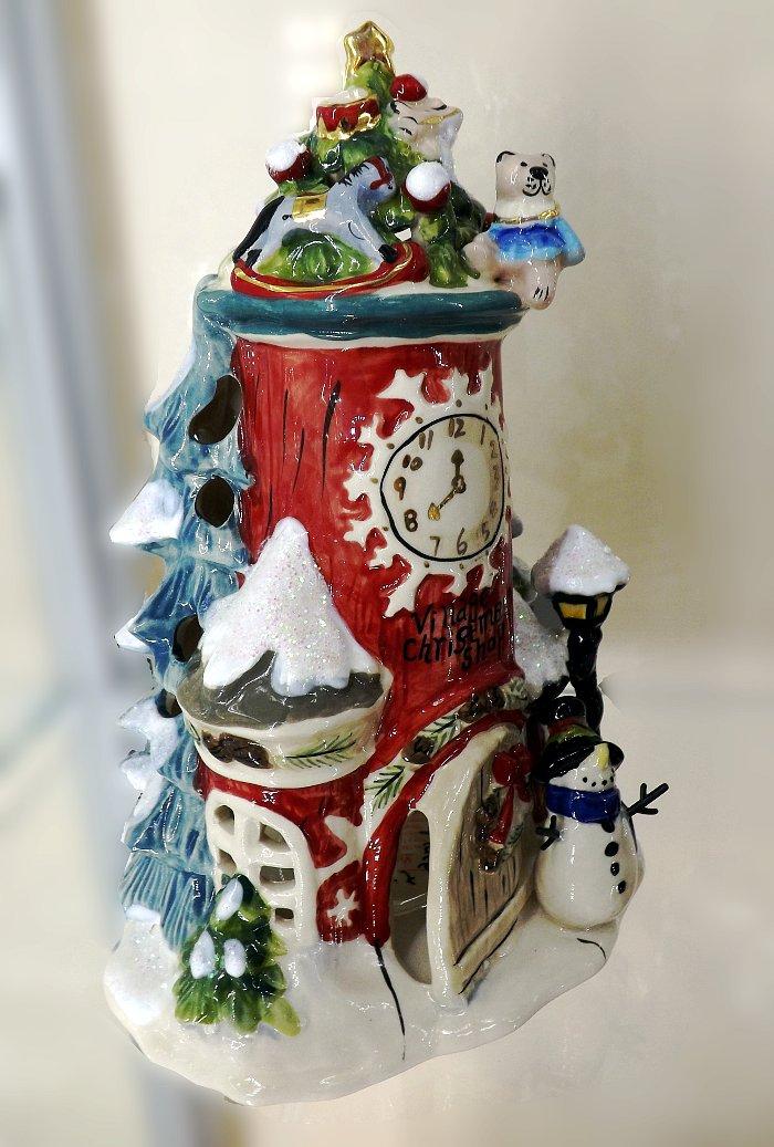 Керамический коллекционный подсвечник от Хизер Голдминк и Blue Sky