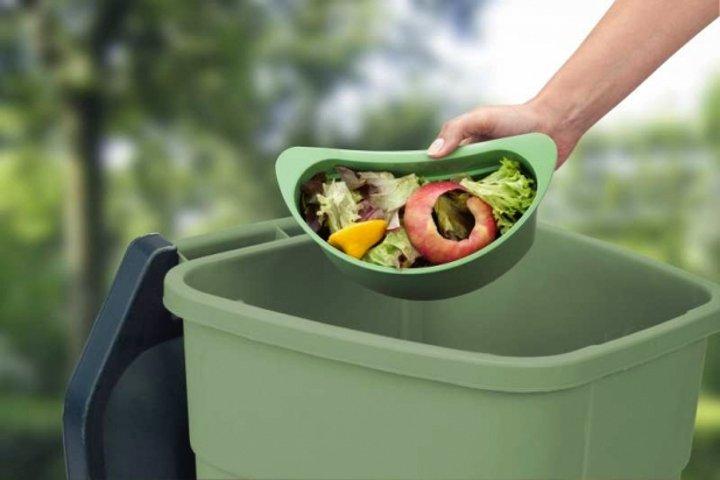 Иллюстрация к статье о компостировании с помощью быстроразлагаемых мешков от Brabantia