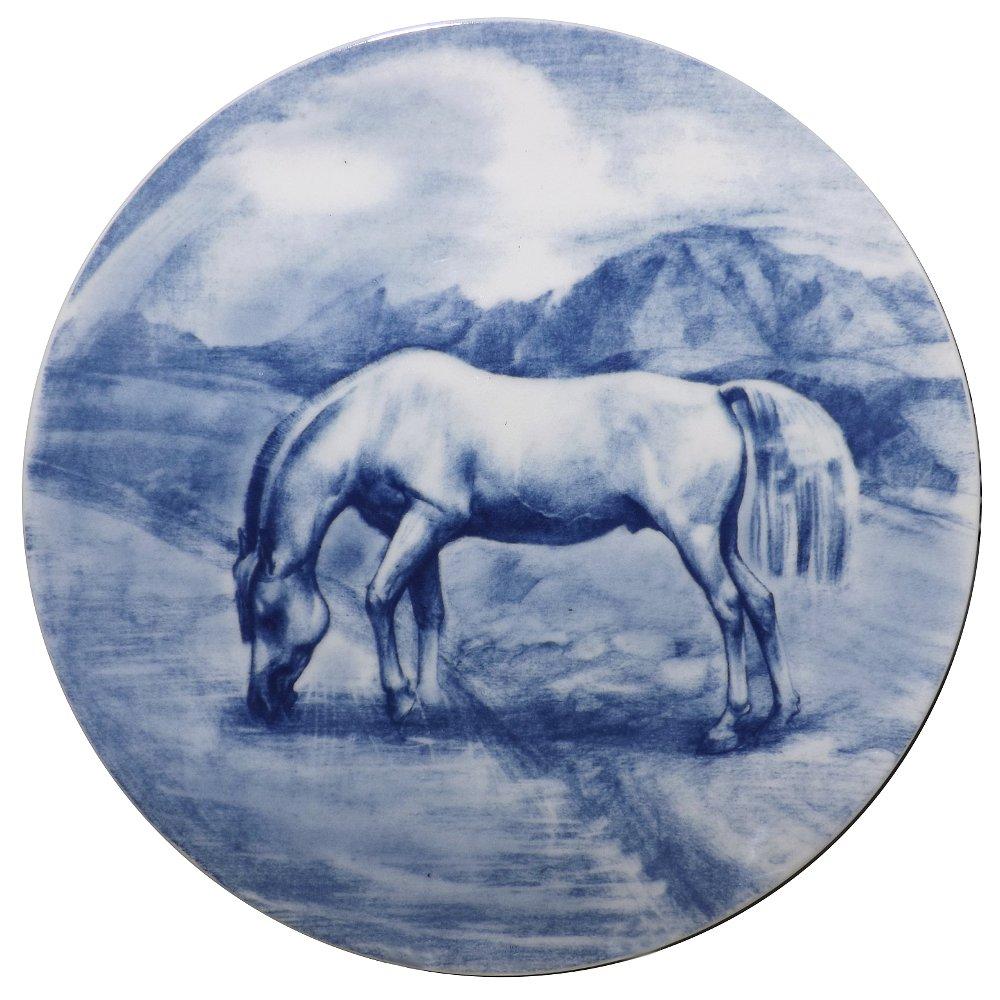 Декоративная фарфоровая тарелка АЗИЯ от ИФЗ