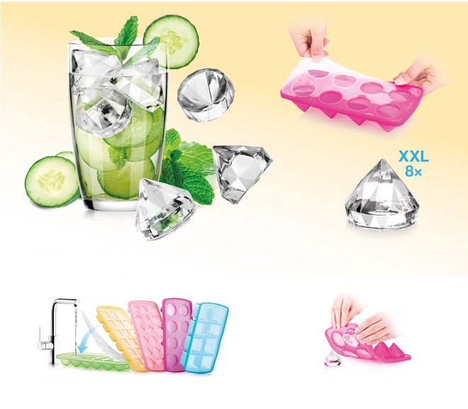 Ванночки myDRINK для создания ледяных бриллиантов, из ассортимента Tescoma (июль-август 2015 г.)