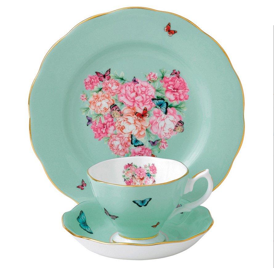 Фарфоровая посуда из коллекции Miranda Kerr for Royal Albert 2014. Вид В