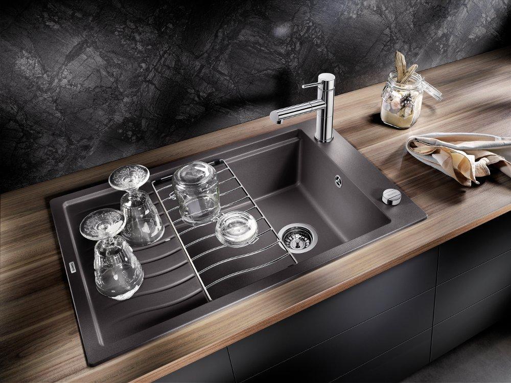 Многофункциональная решётка на кухонной мойке от Blanco