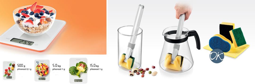 Весы Accura и держатель Clean Kit от Tescoma