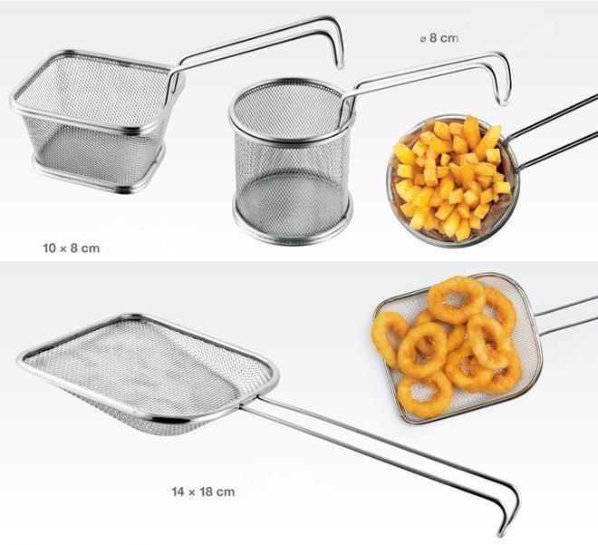 Инструменты GrandCHEF для приготовления блюд во фритюре или с большим количеством жиров, представленные специалистами Tescoma в апреле 2017 года