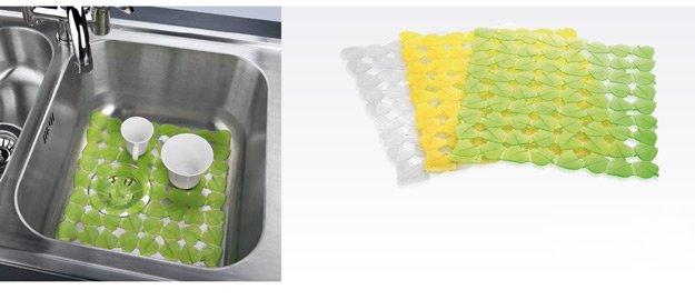 Пластиковый коврик CLEAN KIT для кухонной мойки из ассортимента новинок от Tescoma, представленных в июне 2015 года