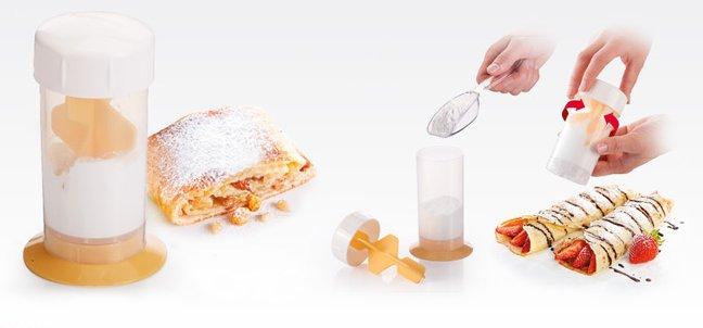 Дозатор для сахарной пудры DELICIA из новинок от Tescoma, представленных в октябре 2015 года