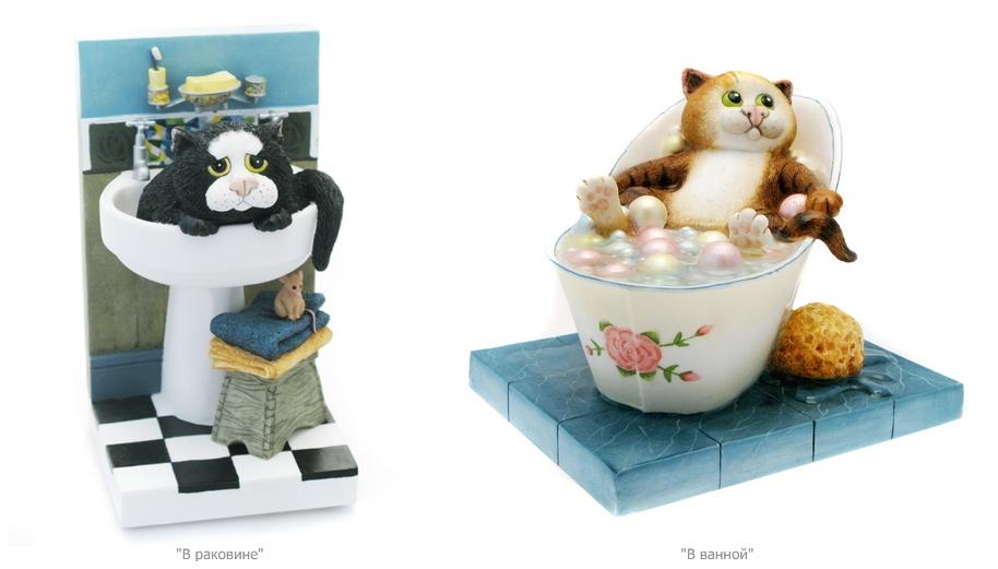 Масленка с котами