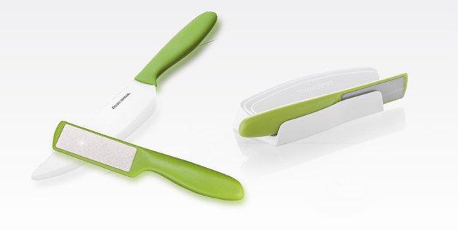 Точильный брусок VITAMINO для керамических ножей из ассортимента новинок от Tescoma, представленных в сентябре 2015 года