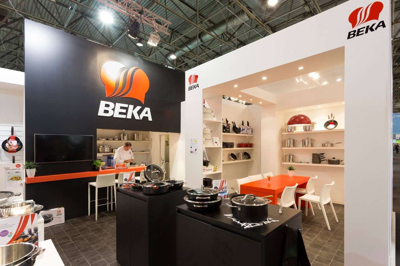 Посуда от компании Beka на парижской выставке Maison & Objet 2014 - вид Б