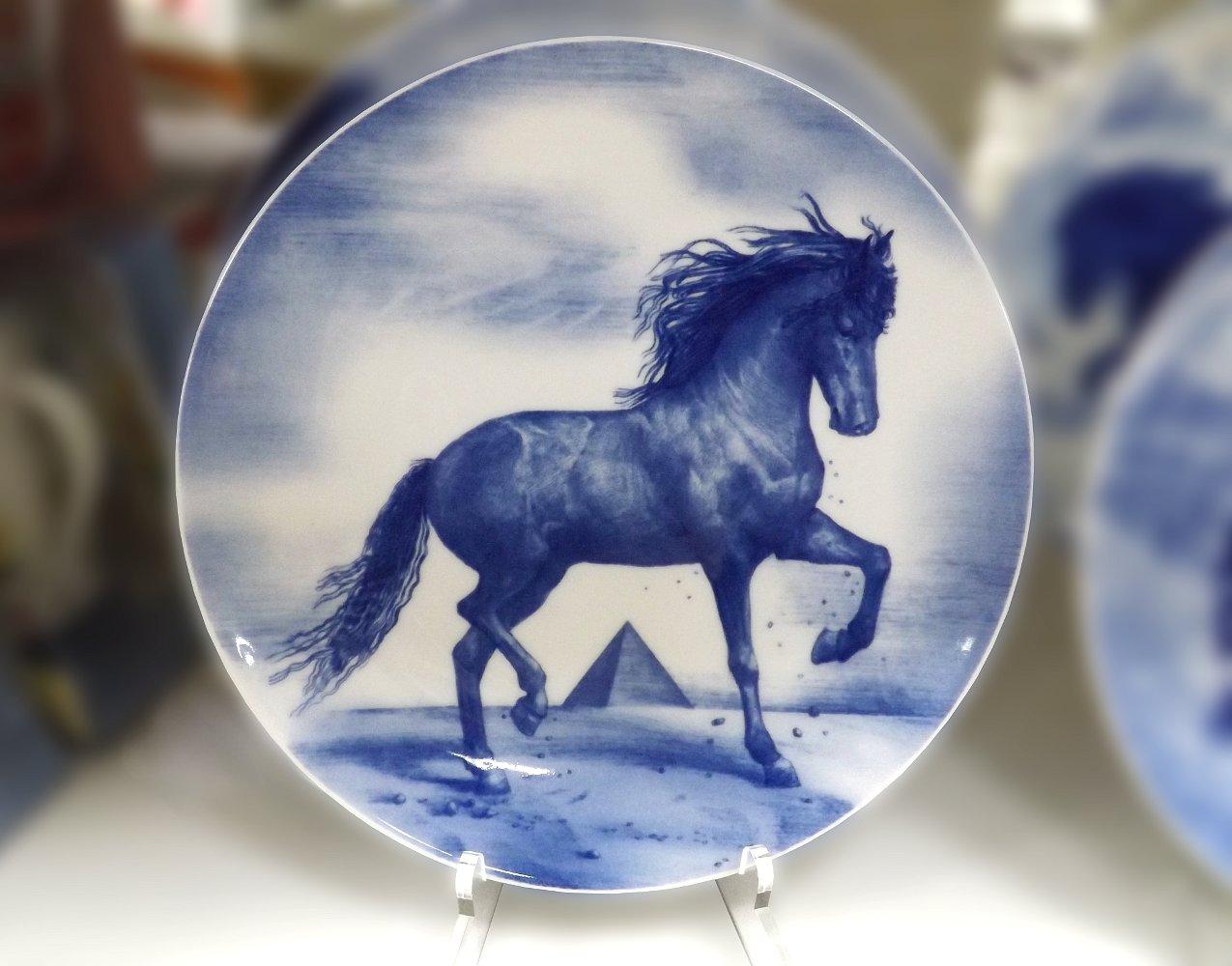 Декоративная фарфоровая тарелка АФРИКА от ИФЗ
