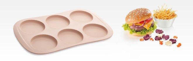 Силиконовая форма для круглых булочек (гамбургеров) DELLA CASA, представленная специалистами Tescoma в марте 2017 года