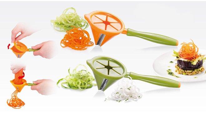 Инструменты PRESTO CARVING для получения овощных облаков, из ассортимента Tescoma (июль-август 2015 г.)