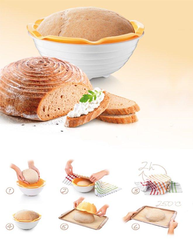 Комплект посуды DELLA CASA от Tescoma для приготовления домашнего хлеба, представленный в марте 2016 года
