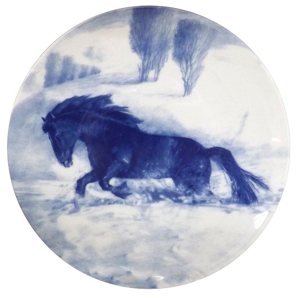 Декоративная фарфоровая тарелка ЕВРОПА от ИФЗ