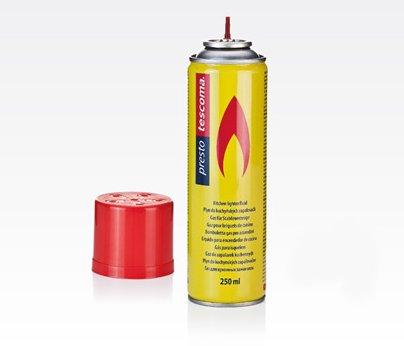 Газ для заправки зажигалок в баллоне PRESTO из новинок от Tescoma, представленных в октябре 2015 года