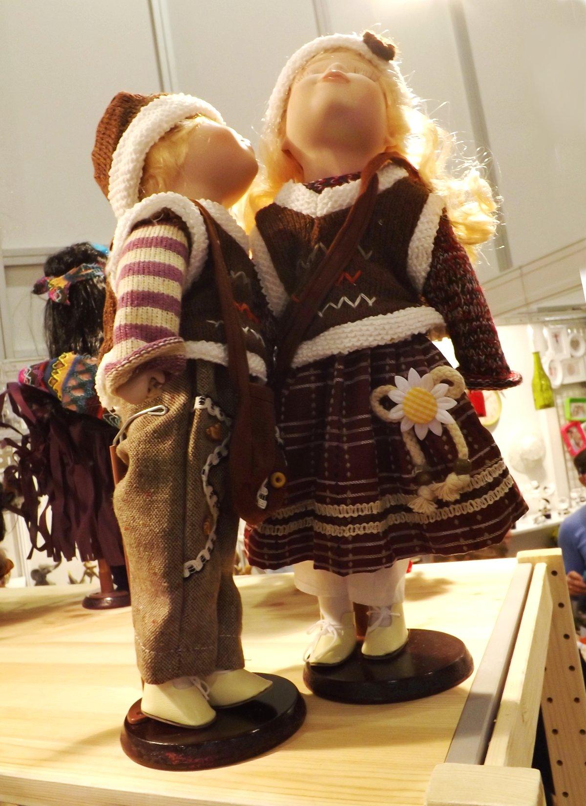 Куклы для оформления интерьера на выставке КонсумЭкспо-Зима 2015