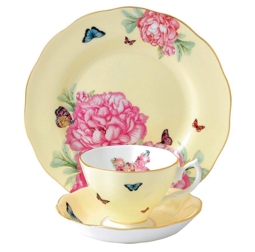 Фарфоровая посуда из коллекции Miranda Kerr for Royal Albert 2014. Вид Д