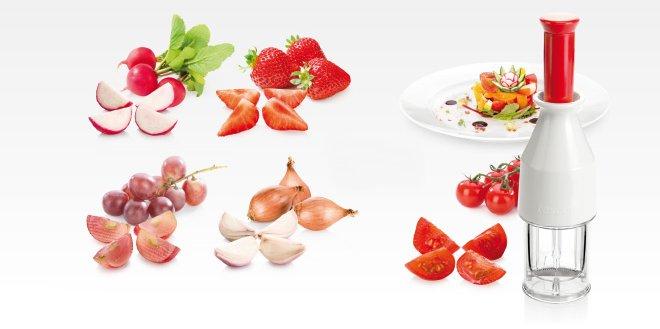 Разделитель (слайсер) HANDY для небольших овощей и фруктов, представленный специалистами Tescoma в марте 2017 года