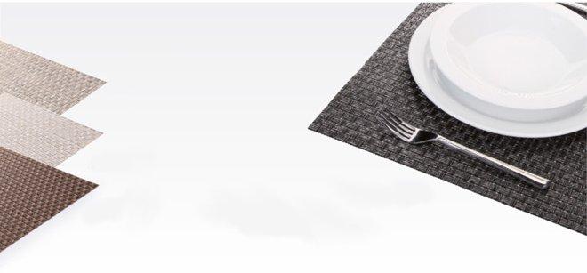 Сервировочные коврики FLAIR RUSTIC из ассортимента новинок от Tescoma, представленных в сентябре 2015 года