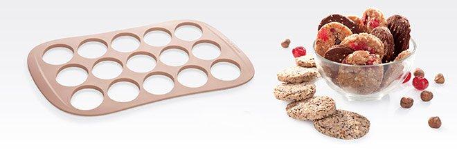 Силиконовая контурная форма DELLA CASA для печенья от Tescoma, представленная в феврале 2017 года
