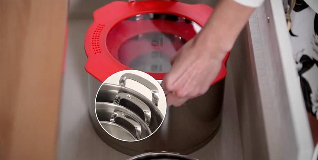 Посуда из нержавеющей стали: Nest от Beka