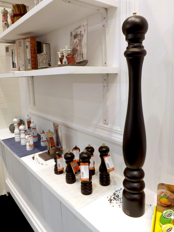 Мельницы из Франции для соли и специй на выставке HouseHoldExpo в сентябре 2016 года