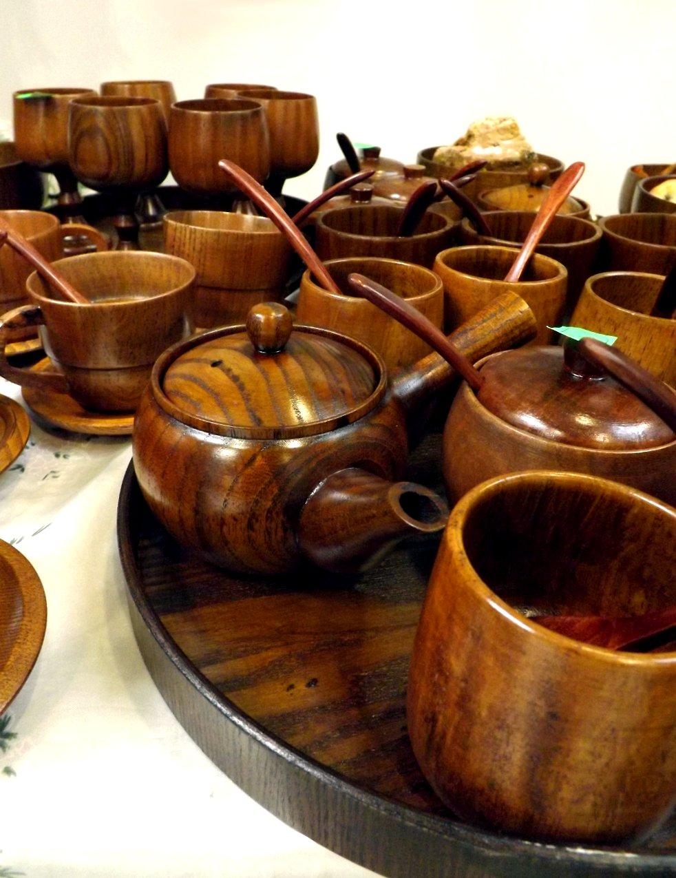 Продукция сибирских производителей деревянной посуды и кухонных аксессуаров на сентябрьской выставке HouseHoldExpo 2014 - вид А