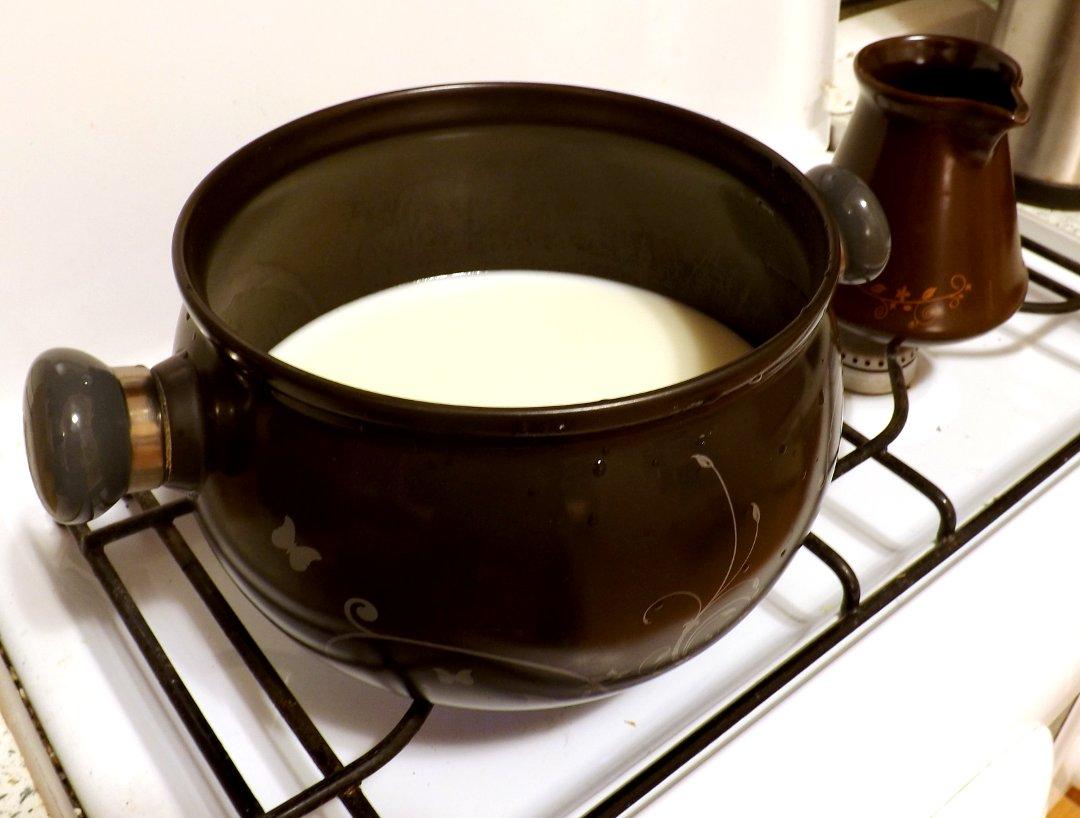 Молоко для створаживания в керамической кастрюле PREMIERE от Ceraflame
