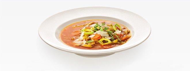 Глубокая тарелка (Ø22 см) OPUS STRIPES от Tescoma для супов и макарон, представленная в июле 2016 года