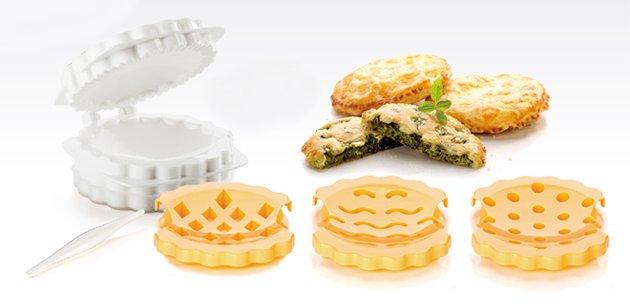 Формы DELICIA от Tescoma для пирожков с открытой начинкой, представленные в апреле 2016 года