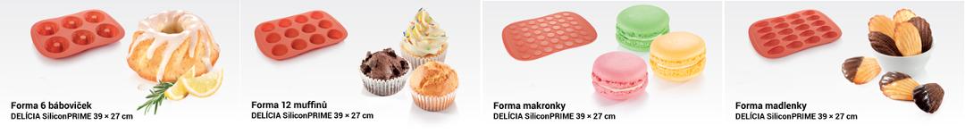 Формы для выпечки DELICIA SiliconPRIME от Tescoma