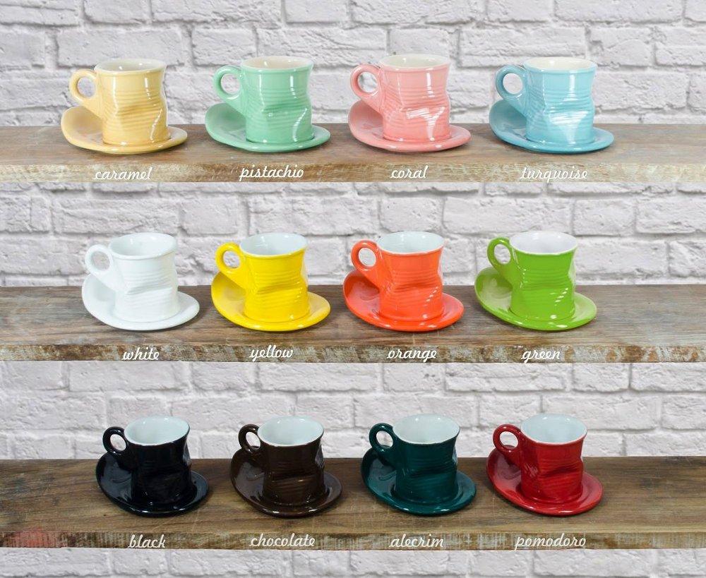 Полная гамма цветов керамической посуды бренда MondoCeram от Ceraflame